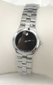 3B: Movado Stainless Steel Watch
