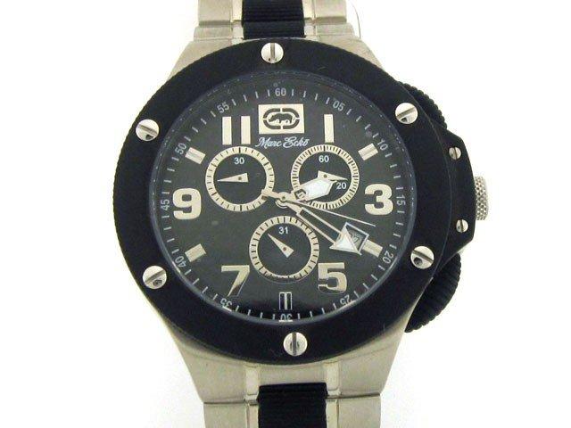 2D: Marc Ecko Men's E20021G1 Sport Carbon-Fiber Watch