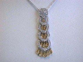 2E: 14k Ladies' Fashion Necklace