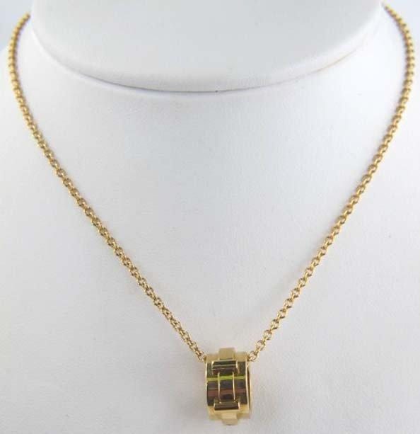 148: Asprey 18K Yellow Gold Necklace