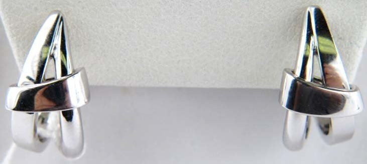 4A: Asprey White Gold Earrings