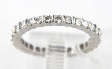 11B: Platinum Diamond Eternity Ring