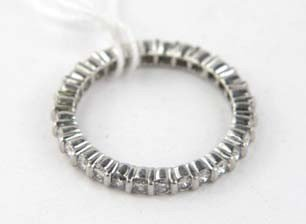 11B: Platinum Diamond Eternity Ring - 2