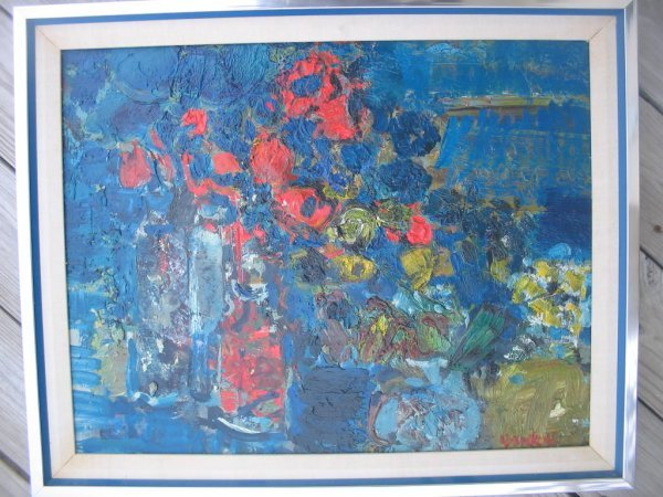 20: Yankel Kikoine French signed oil painting listed
