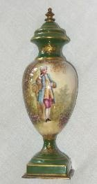 2: French Cabinet Urn in the Manner of Sevres
