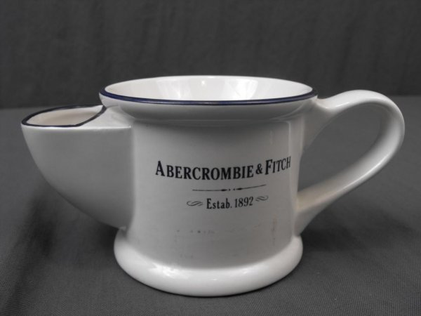 13: Collectible Shaving Mug- Abercrombie & Fitch