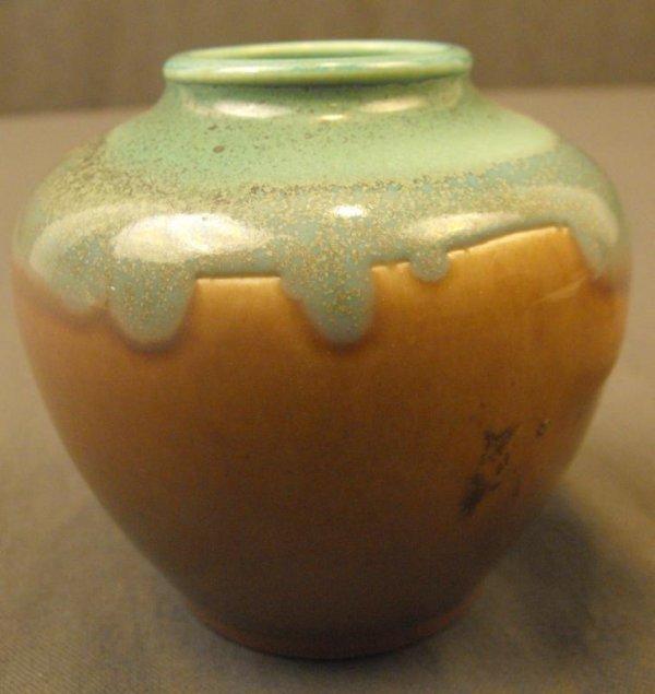 64: Rookwood Drip Glaze Art Pottery Vase