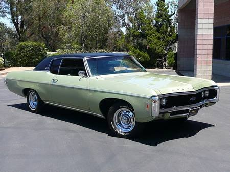4S: 1969 CHEVROLET CAPRICE SPORT COUPE 350/300hp P/W, T