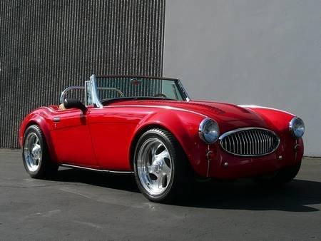"""72: 1962 AUSTIN HEALEY """"COBRA KILLER"""" V8 425hp 377ci"""