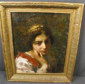 22: Fine Ana de Carrie Portrait  Countess De la Rocca