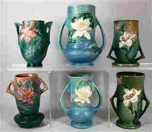 1T: Fine Roseville Art Pottery Lot