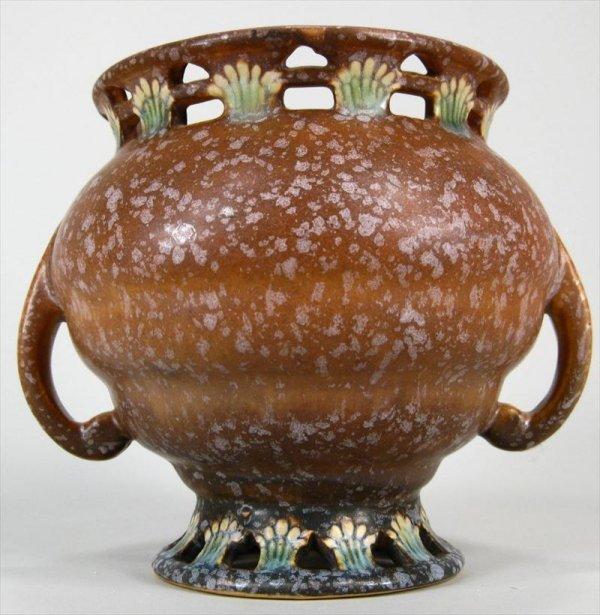 3T: RARE -  Roseville Farella Art Pottery Vase - RARE