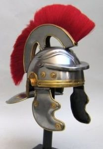 1B: Troy Warrior Battle Helmet Authentic Likeness