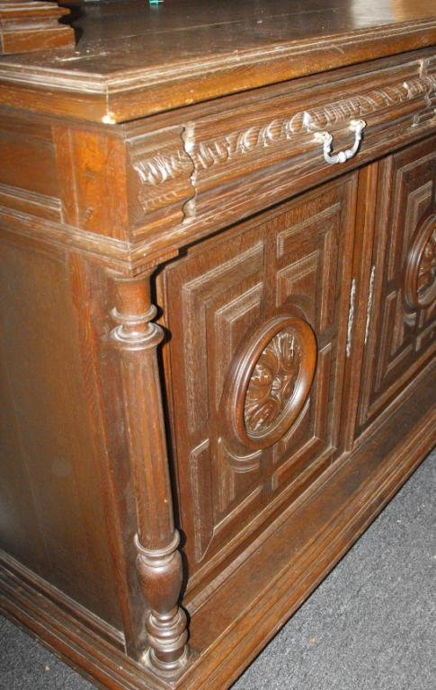 5: 19TH CENTURY GERMAN SIDEBOARD - 3