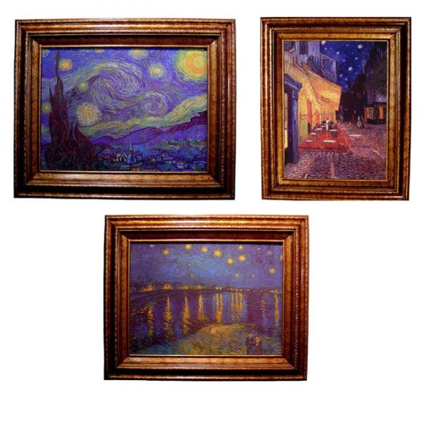 2A: Van Gogh Starry Night Canvas Collection