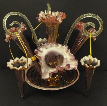 4A: Very Fine Victorian Epergne