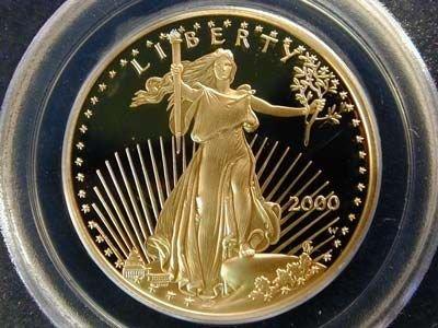 2P:  Estate Item 1 oz. Gold Bullion Coin-EAGLE