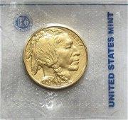 4P: Estate Item 1 oz. Gold Bullion Coin-BUFFALO