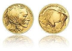 1: $50 Gold Buffalo 24k Bullion Coin