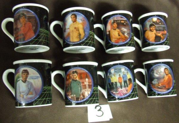 3: Star Trek Mug Collection