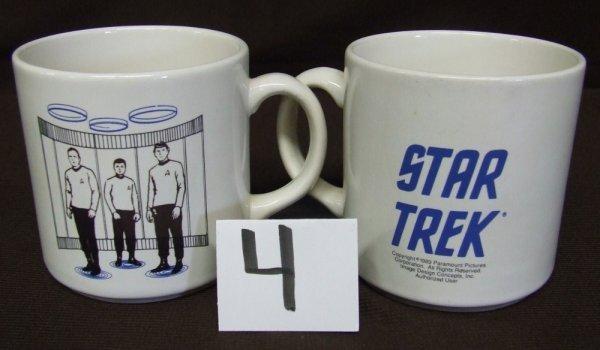 4: Set of Transporter Mugs