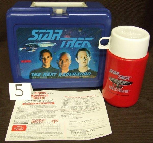 5: StarTrek Next Generation Lunch Box