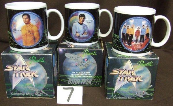 7: Star Trek Mugs