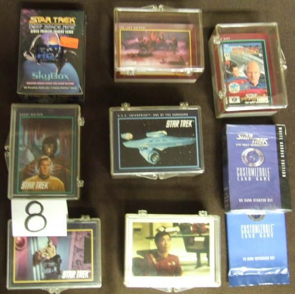 8: Star Trek Trading Cards