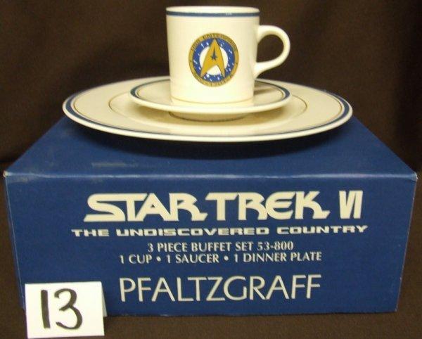13: Star Trek Place Setting