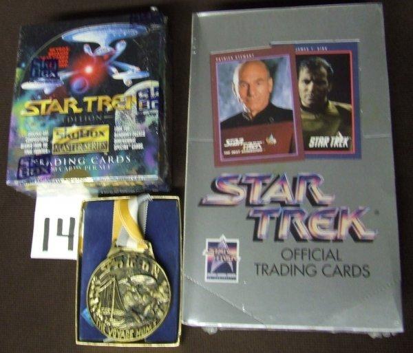 14: Star Trek Trading Cards