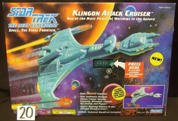 20: Klingon Battle Cruiser Model