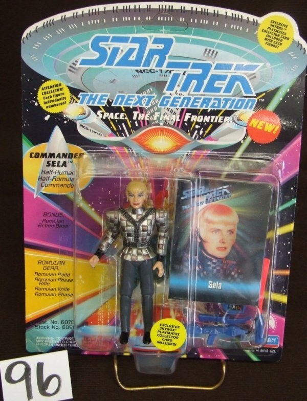 96: Star Trek - Commander Sela Figurine