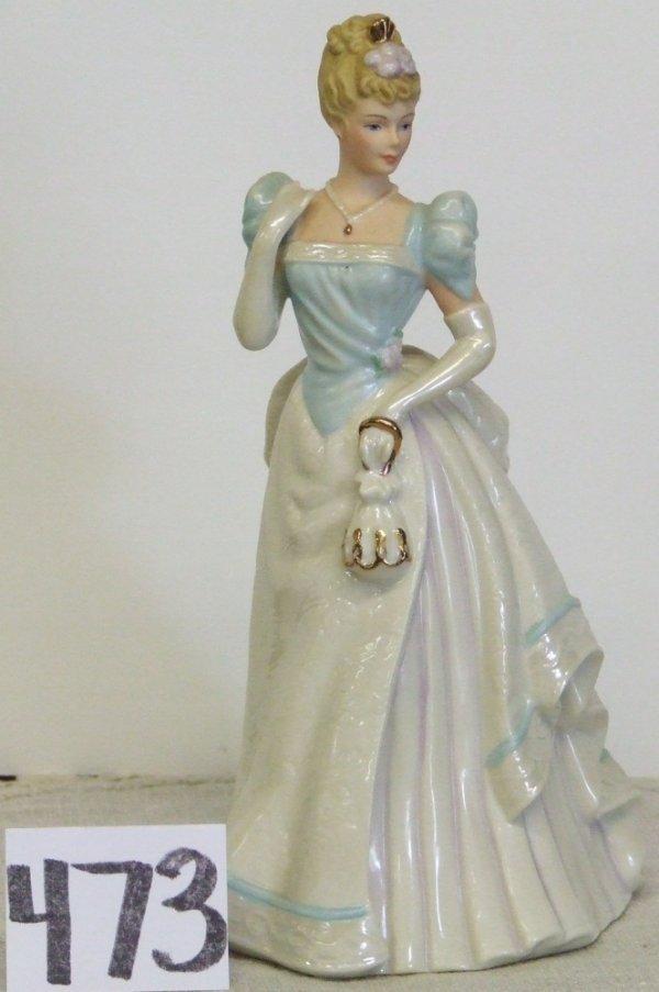 "473: Lenox Lady Figurine ""Opening Night"""
