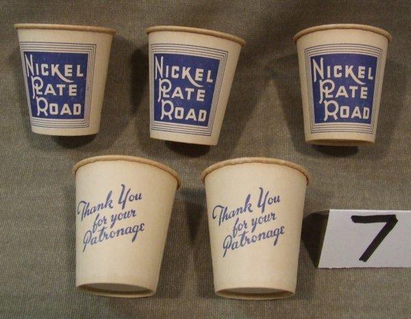 7: Nickel Plate Road Cups