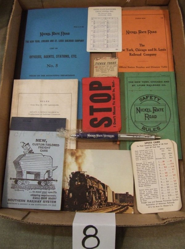 8: Nickel Plate Road Booklets