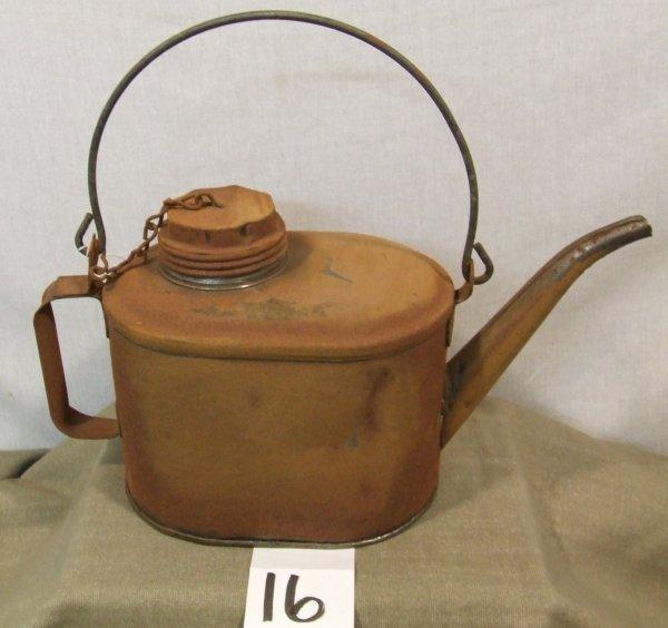16: Erie Railroad Oil Can