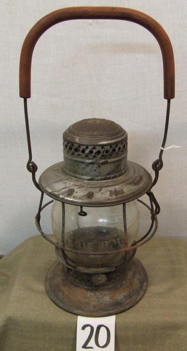 20: Erie Railroad Lantern