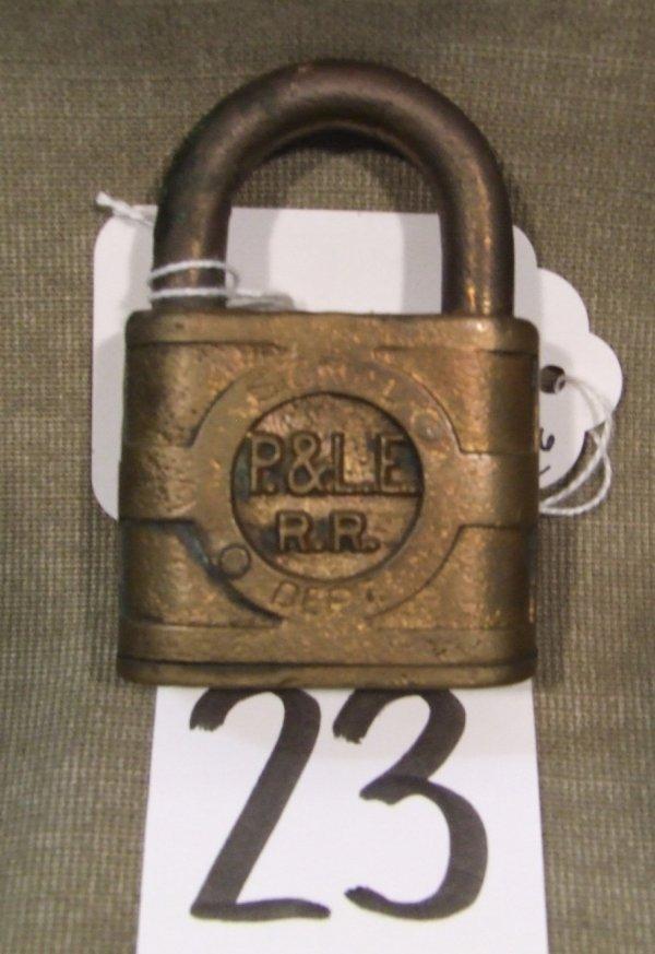 23: Pittsburgh & Lake Erie Lock