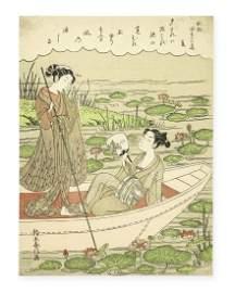 Suzuki Harunobu (1725-1770) Edo period (1615-1868),