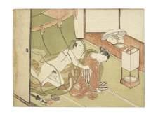 Attributed to Suzuki Harunobu (1725-1770) Edo period