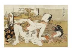 Isoda Koryusai (1735-1790) and attributed to Isoda