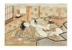 Attributed to Isoda Koryusai (1735-1790) Edo period