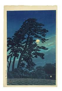 Kawase Hasui (1883-1957) Showa era (1926-1989), dated