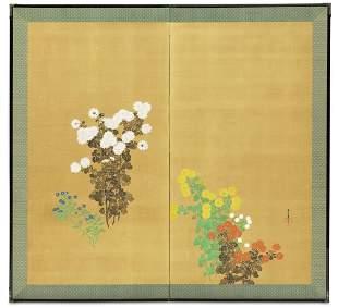 Kamisaka Sekka (1866-1942) Taisho (1912-1926) or Showa