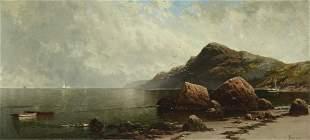 Alfred Thompson Bricher (1837-1908) Seascape and Shore