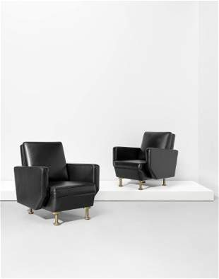 Alvar Aalto Pair of armchairs, for the Enso-Gutzeit