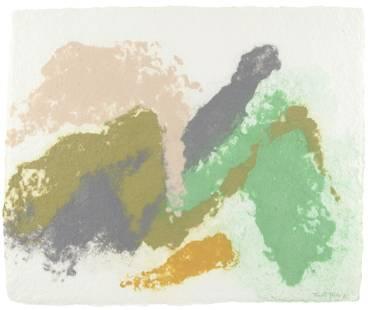 Friedel Dzubas (1915-1994); Untitled (EXP-FD-3-1);