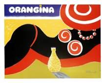 Orangina, Villemot – 1970, cm 58 x 65