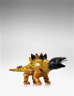 Antonio da Ros (1936-2012) Monumental Stegosaurus