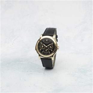 Patek Philippe. An exceptionally fine and very rare 18K
